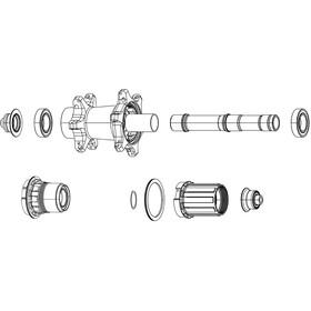 Zipp Freewheel Kit voor ZR1 XDR, black